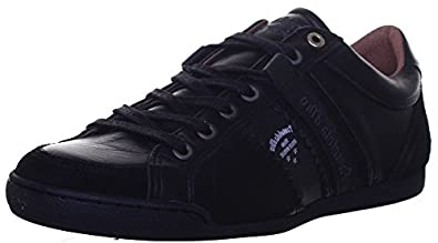 Pantofola d'Oro Pesaro Low, Herren Sneaker Schwarz Black