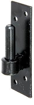 180 x 40 mm schwarzer Tauchlack DI-Haken /Ø16 mm GAH-Alberts 306694 Kloben auf Platte