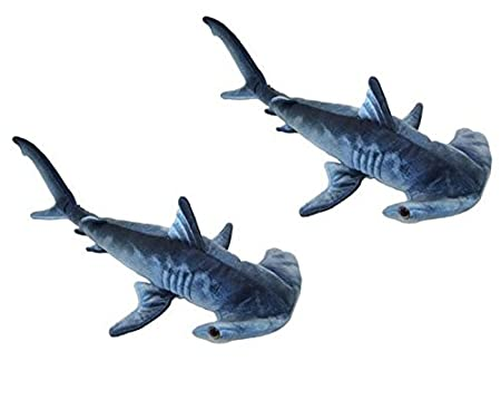 Blue Printed Hammerhead Shark Plush Toy 24 L Adventure Planet AP-HHS24