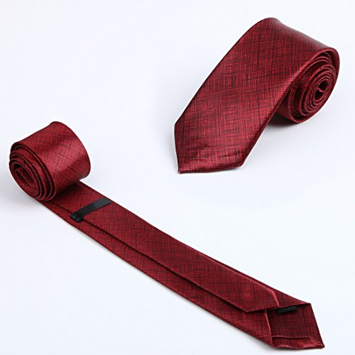KT3066 Love Shopstyle Slim Ties Polyester Fantastic World 3 Pack Skinny Ties Set by Dan Smith by Dan Smith (Image #3)