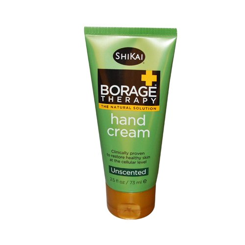 Shikai Borage Therapy Hand Cream -- 2.5 fl oz (Cream Borage Foot)