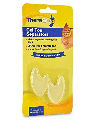 Therastep Gel - Silipos TheraStep 7003 Gel Toe Separators