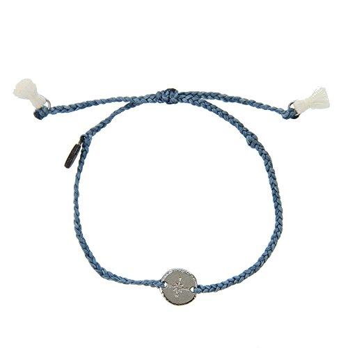 Cool String Bracelets ( Pura Vida Compass Braided Bracelet - Plated Charms, Adjustable Band - 100% Waterproof)