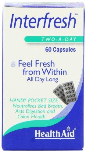 Aide Interfresh Santé (Fresh Breath Capsules) - Blister 60 Capsules