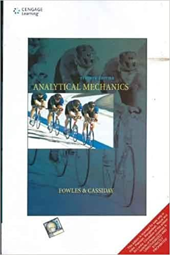 Analytical mechanics fowles 7th edition pdf free download
