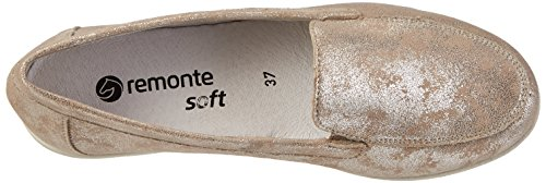 Silber Beige Remonte Slipper 60 silver Damen D1919 xwHqH06Ag