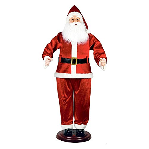 - Home Accents Holiday 5230-72625HD 72 in. Animated Dancing Santa