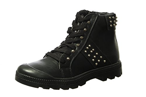 Up Pampa Black Bootie Women's Lace Ankle Wanted Prima gIxPwqES