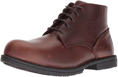 Bedford Wolverine Chukka Men's Industrial Toe Steel SR Boot Brown 1w45q