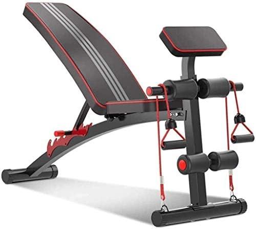家庭用ダンベルベンチ 筋肉フィットネスチェア 多機能重量挙げベンチ 家庭用腹部 男と女腹筋仰臥位テーブル調整 ジムの設備