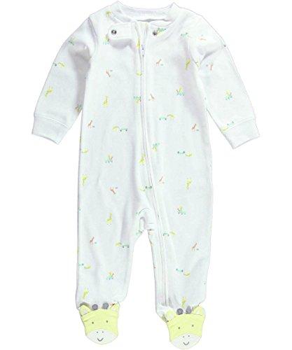 Carters Unisex Baby Print Footie