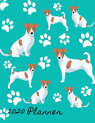 2020-Planner-2020-Monthly-Planner-Organizer-Undated-Calendar-And-ToDo-List-Tracker-Notebook-Jack-Russell-Terrier-Dog