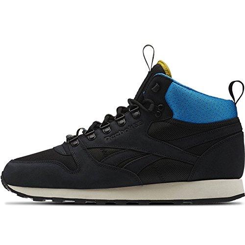 REEBOK - Baskets basses - Homme - CL Leather Mid BC noir pour homme - 42