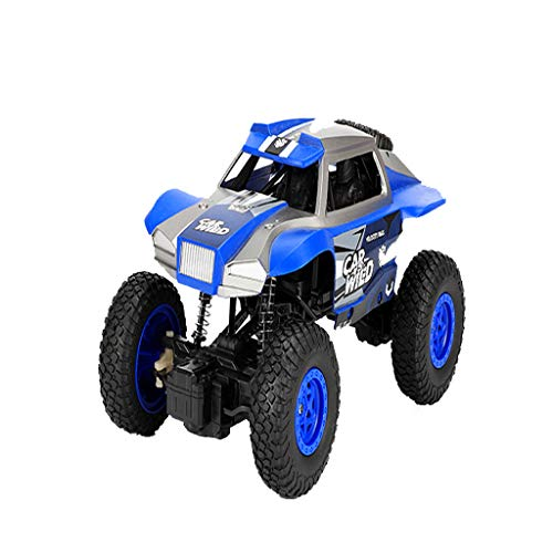 Fan-Ling 1:20 2.4GHz High Speed RC Racing Car,Remote Control Truck,Off-Road car Toy,Buggy Toys,Racing Series, for Both Adults and Kid (Blue) (Hot Wheels Loop And Jump Track Set)