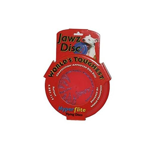 Hyperflite - Jawz Best-Flying Puncture-Resistant Sport Competition Dog Disc - Mango, 8.75 Inch (2 - Dog Frisbee