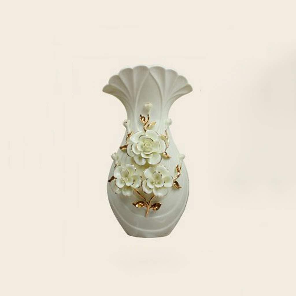 GAODUZI Stile Europeo Decorazione della casa Vaso in Ceramica Craft Soggiorno TV Cabinet Decorazione Vaso Wine Cabinet Decorazione Ornamenti (Dimensioni   B)