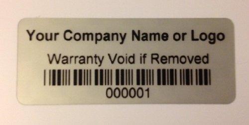 250 Silver Matte Asset Identification ID Labels 1.5