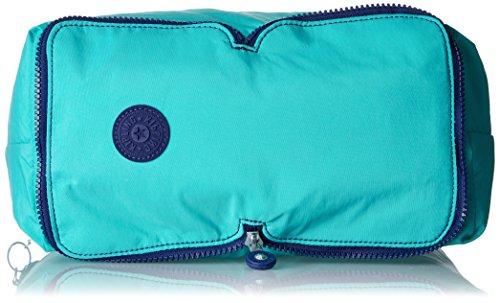Kipling Hip Hurray 5 - Bolsos totes Mujer Turquesa (Turquoise Dream)