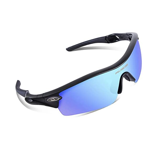 177221a9d3 ... RIVBOS 805 POLARIZED Sports Sunglasses Glasses with 5 Set  Interchangeable Lenses for Cycling. Sale! 🔍. On Sale