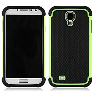 JJE Three in One Football Lines Case for Samsung Galaxy S4/I9500 , Gray