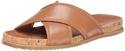 Stuart Weitzman Women's Spa Wedge Sandal, Camel, 10 M US