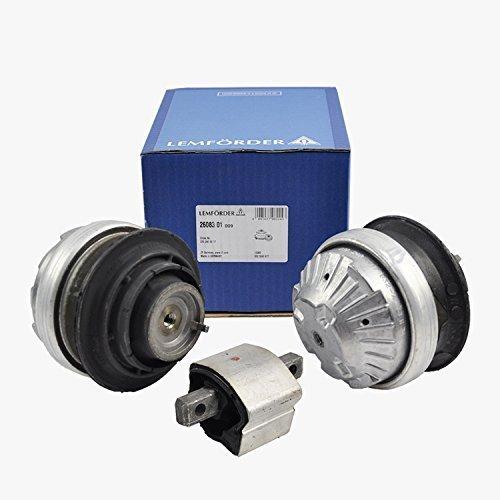 Mercedes Engine Motor Mount + Transmission Mount Lemforder OEM 2202400617 (3pcs)