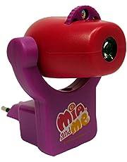 Joy Toy Mia and Me 118094 Projectielamp voor de kinderkamer, 7 x 9 x 8,5 cm met 14 x 9 x 19 cm