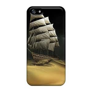 Tpu Mwaerke Shockproof Scratcheproof Sailingdesert Hard Case Cover For Iphone 5/5s by lolosakes