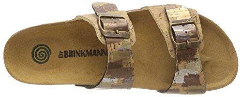 Dr 701121 Braun Femme Brinkmann 2 Braun Mules rSw7rqP