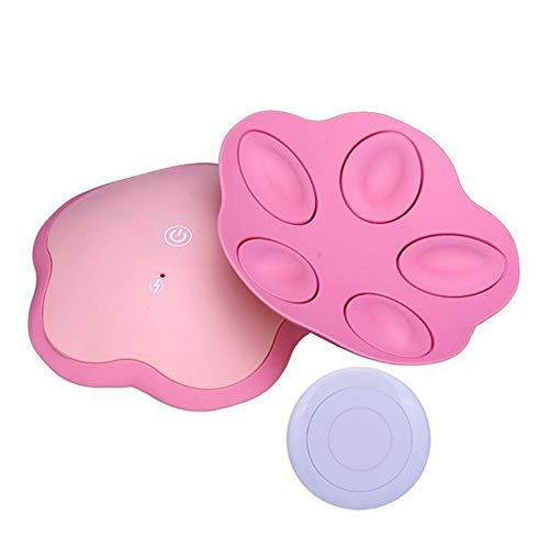 GCCLCF Woman Electric Breast Massager USB Wireless Breast Care Bust Enhancer Enlarger Massager Pads Chest Massage