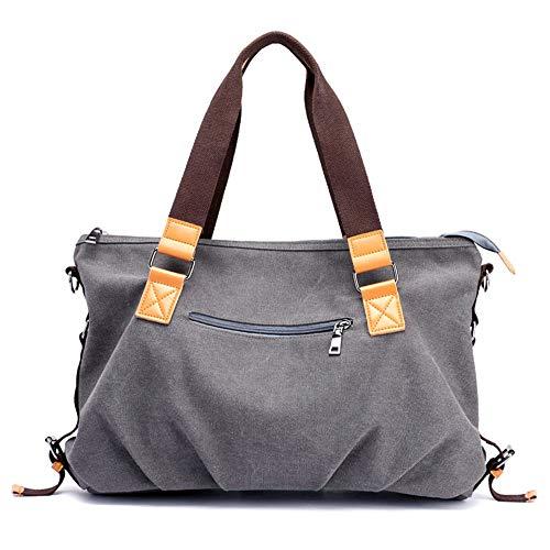 casuale di modo retrò tracolla spalla Tote maniglia borsa portatile Grey Cartella mano donna di a Crossbody Via Lavorare superiore Hobo Donne xZxPwq8v