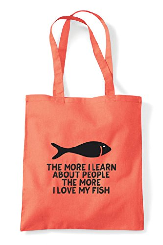 Tote The Pets Lover Shopper Coral Fish I More About Funny Animal Person Bag Learn People Love My qARqSwO