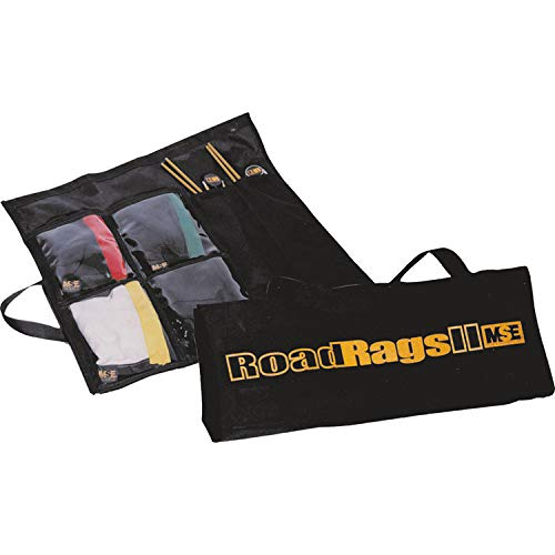 Matthews Roadrags Flag Kit (2 Holders 4 Fabrics) - Grip and Lighting Equipment for Film Photography and Theatre
