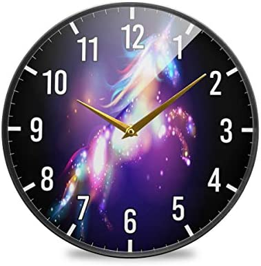 Quality Quartz Wall Clock Silent Non Ticking 14 Inch Round Easy to Read Home//O