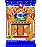 Gingerbread Flavored Marshmallow Peeps Gingerbread Men 6ct