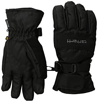 Carhartt Men's W.B. Waterproof Windproof Insulated Work Glove, Black, Small