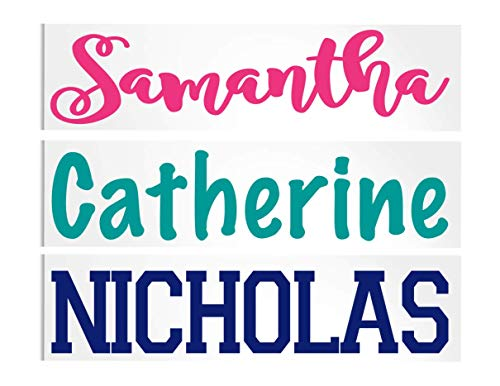 Personalized Name Decal for Yeti Tumbler, Car or Laptop, Your Choice of Color & Style | Decals by ADavis -