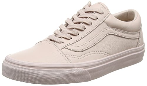 Rosa Adulto Zapatillas Old Leather Skool Unisex Vans pqwx7C4Tp