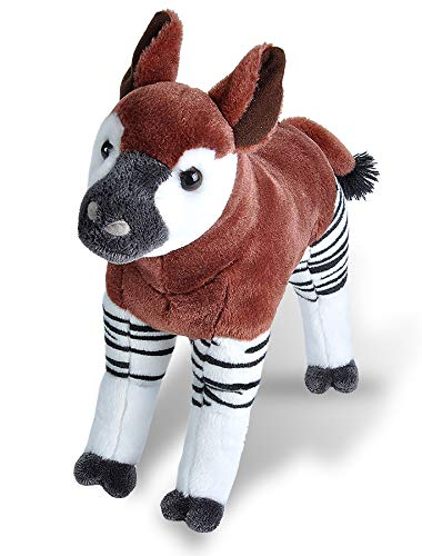 Wild Republic Okapi Plush, Stuffed Animal, Plush Toy, Gifts for Kids, Cuddlekins 12 Inches