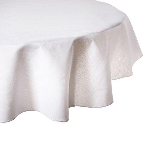 41fTkaIQ vL - 51 Inch Round Cotton-Feel Tablecloths