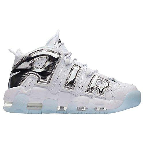 住所七時半局(ナイキ) Nike レディース バスケットボール シューズ?靴 Air More Uptempo [並行輸入品]