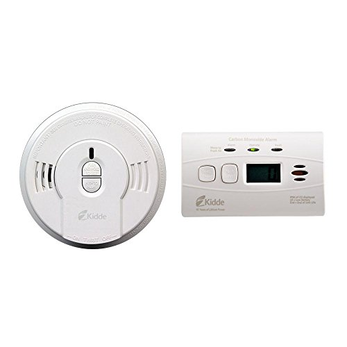 Smoke Alarm - Carbon Monoxide Detectors Home Security includ