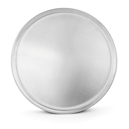 New Star Foodservice 50837 Pizza Pan/Tray, Coupe Style, Aluminum, 16 inch,