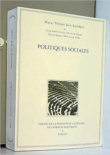Politiques sociales