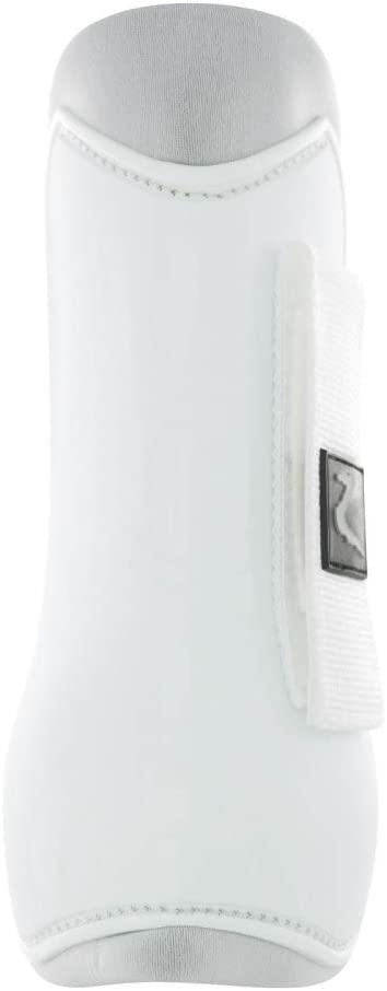 Steel Grey Horze Advanced ProTec Boot Set With Protective PVC Shell And Neoprene Lining Eggplant Dark Purple Dark Nav