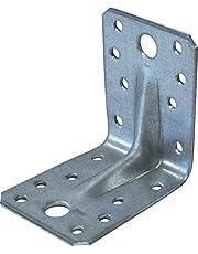 PARCO hoekverbinding met brug, 70 x 70 x 55 x 2,5 mm, verzinkt, 50 stuks
