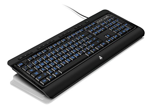 Large Print USB Keyboard Accs Tri-color Usb with Backlit LED