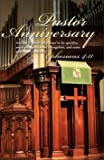 Pastor Anniversary Bulletin - ''Pastor Anniversary'' - (Package of 100)
