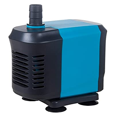 KEDSUM 40W 2500L Per Hour 550GPH Submersible Water Pump Fish Tank Powerhead Water Fountain Aquarium Hydroponic Pond Pump