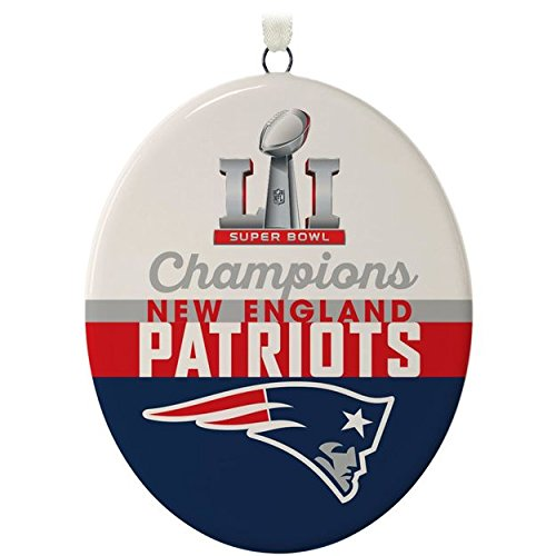 New England Patriots Christmas Ornament - 7